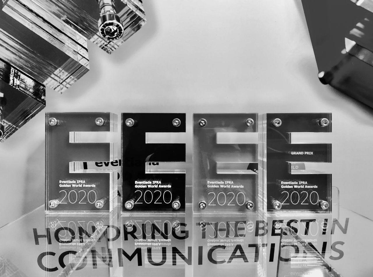 Благотворительный аукцион «ДЗЯКУЙ!» и ARS Communications стали победителями премии Eventiada IPRA Golden World Awards